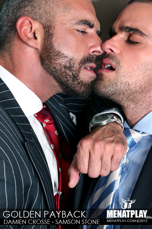 Samson Stone and Damien Crosse in The Golden Payback