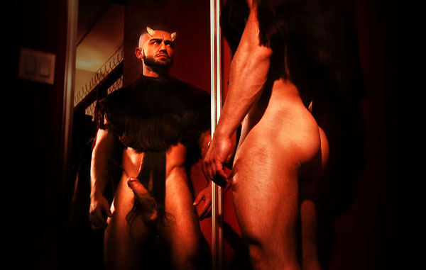 The devil in Monsieur Sagat