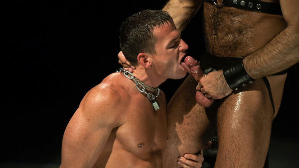 Cavin Knight licks Wilfried Knight's dick in Submit