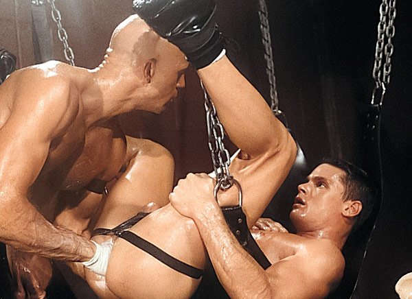 Leather handballing foursome