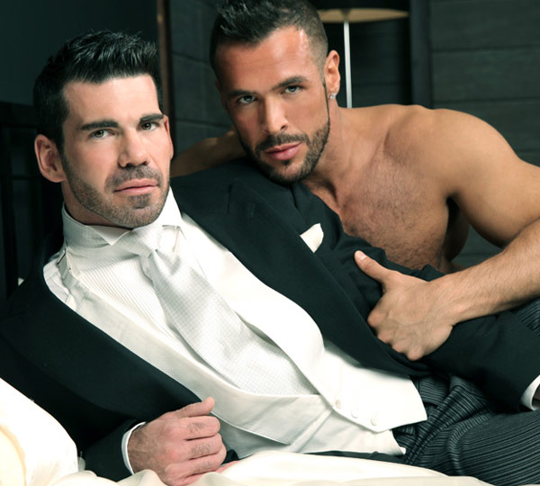 Image of Billy Santoro and Denis Vega in Top & Tails