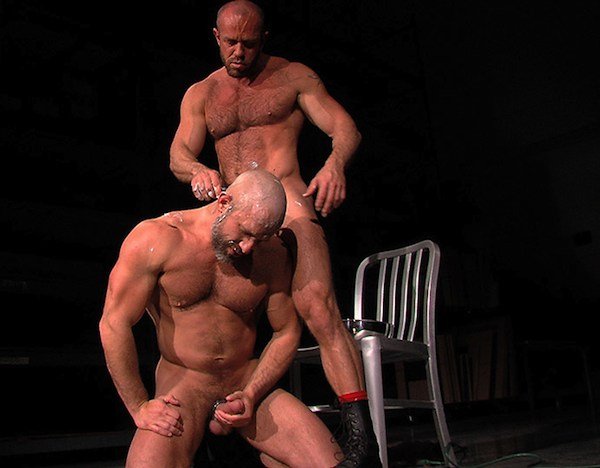 Image of Matt Stevens and Dirk Caber in Titan's Hard Play
