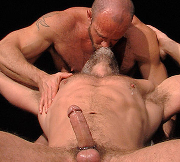 Image of Matt Stevens and Dirk Caber in Hard Play