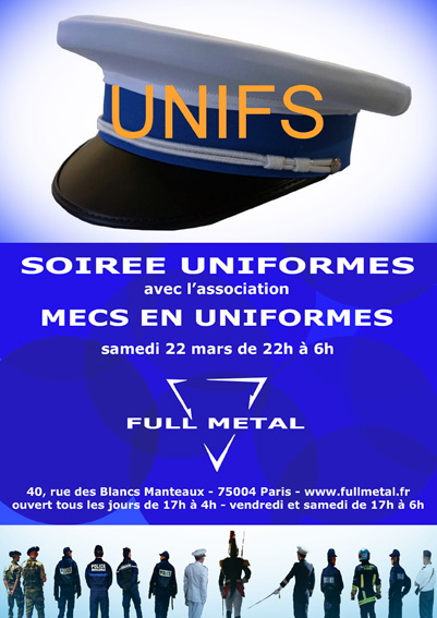 UNIFS at Full Metal: Saturday March 22, 2014