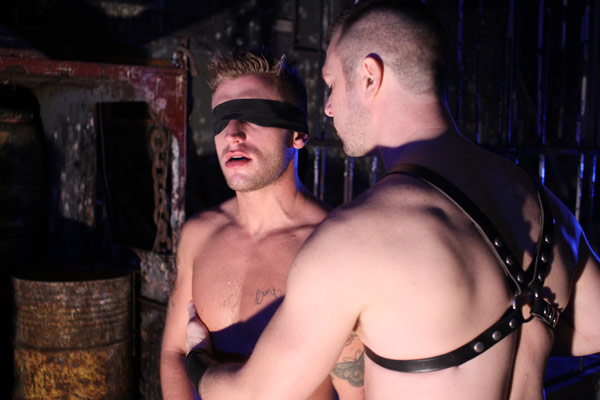 Jed James and Dillon Buck in the dungeon