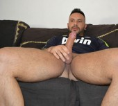 Sleeping Spanish hunk gets hot anal workout