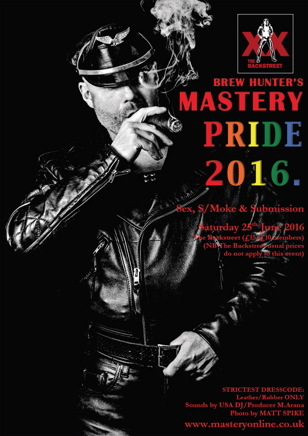 Flyer for Mastery Pride 2016