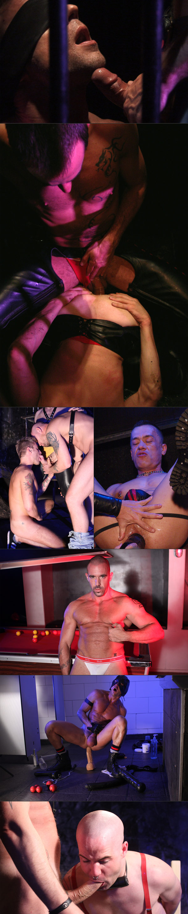 Various stills from X Offender movies