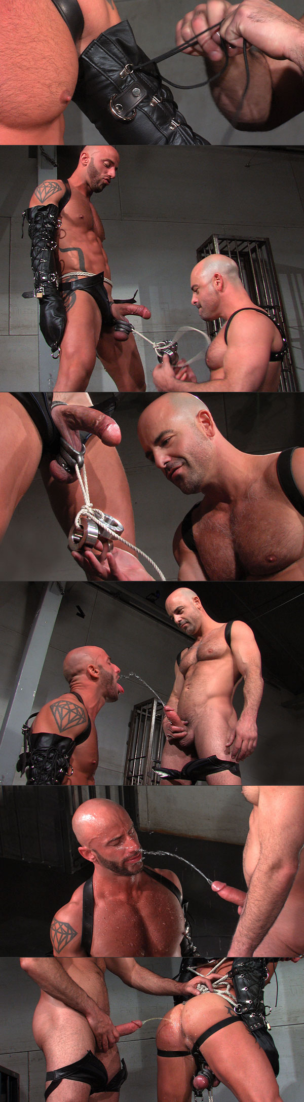 Aymeric Porn aymeric deville gets a faceful of piss - guys in gear